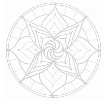 Mandala Malvorlage ausdrucken