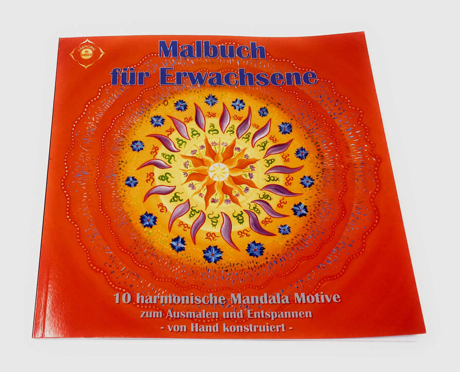 Mandala Malbuch Vorderseite