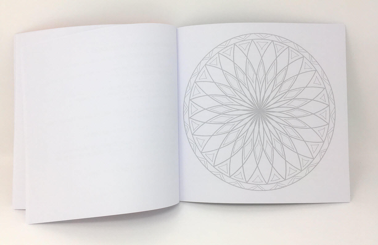 Mandala Ausmalbuch Bild