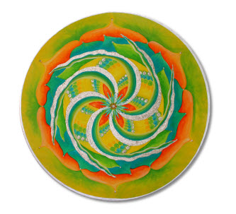 Mandala malen Bild2