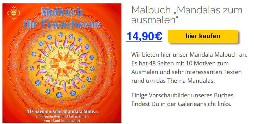 Mandala Malbuch kaufen